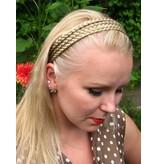 Dreifaches Zopf Haarband - Blondmix 22&24
