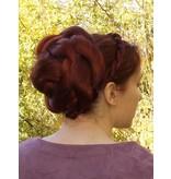 Twist Zopf Größe L extra, gekrepptes Haar