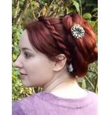 Haarband Twist Zopf, mitteldicker Zopf