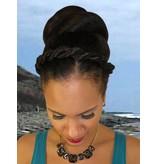 Twist Zopf Größe L, gekrepptes Haar