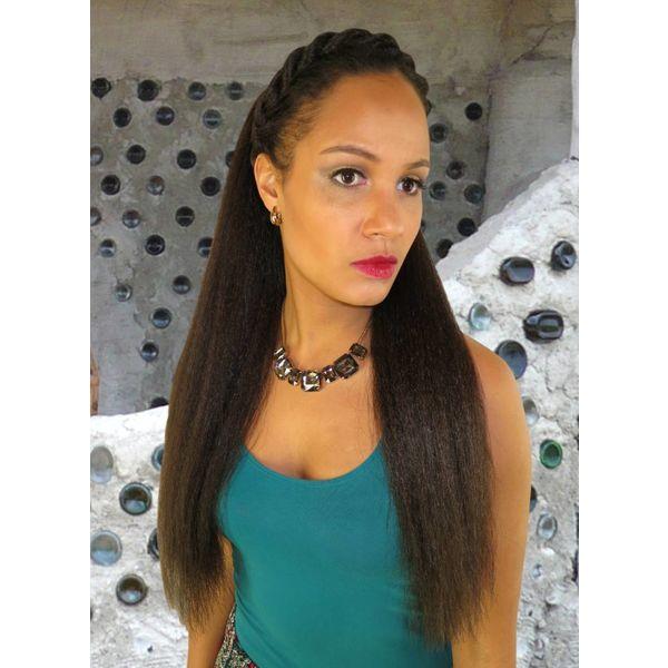Afro  Haarteil M gekreppt