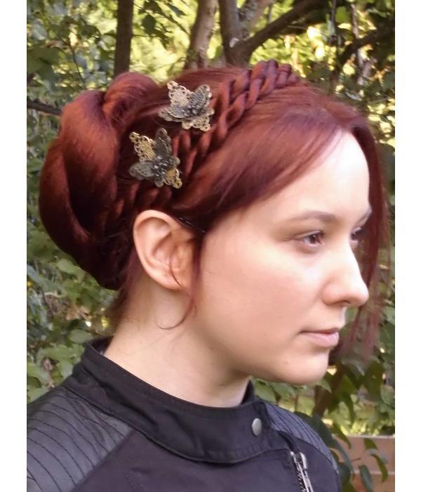 Twist Braid/ Plait M size, crimped hair