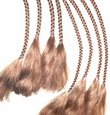Clip-In Braids, wavy ends