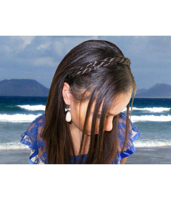Twist Braid Headband Sailor