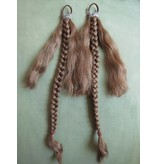 Braids/ Plaits 2 x S size for pigtails, wavy hair