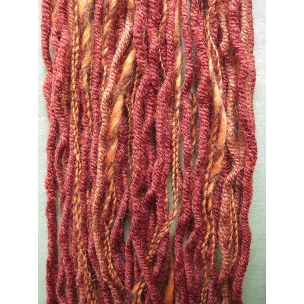 Henna red dream clip-in dreads