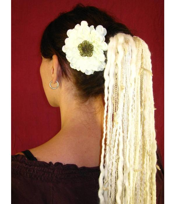 Flora Vintage Haarteil aus Bändern
