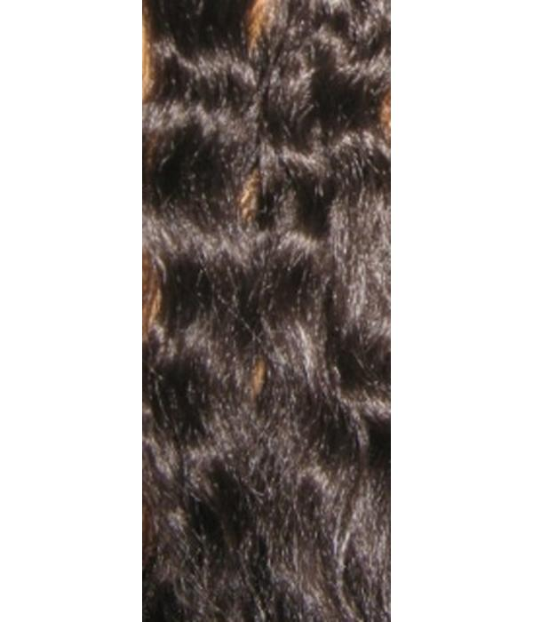 Peacock Extensions, 7 Feathers  - color 4, mocca