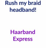 Rush my headband