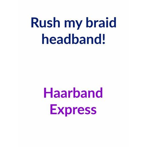 Rush my headband