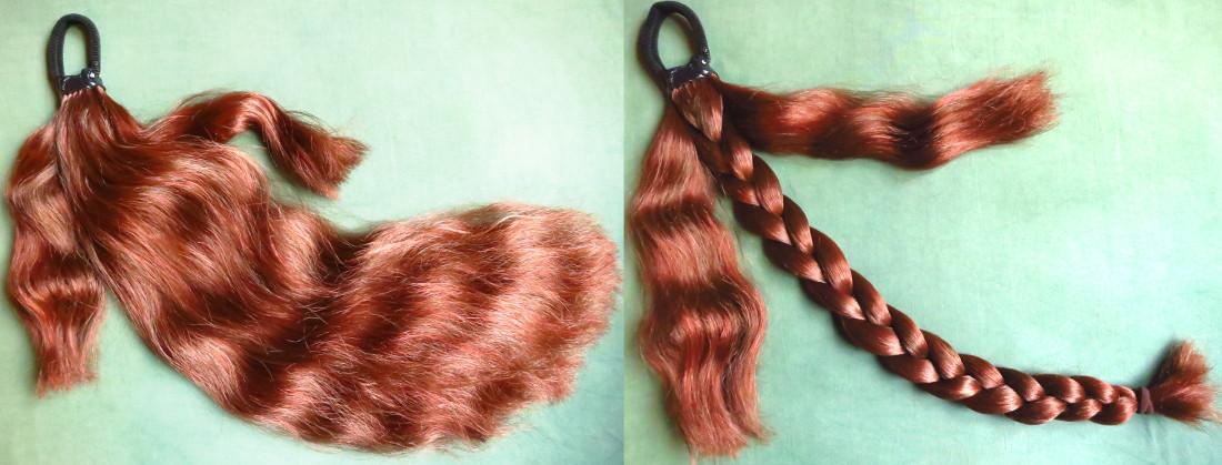 Zopfwunder Haarteil im Paranda Stil mit professioneller Befestigung
