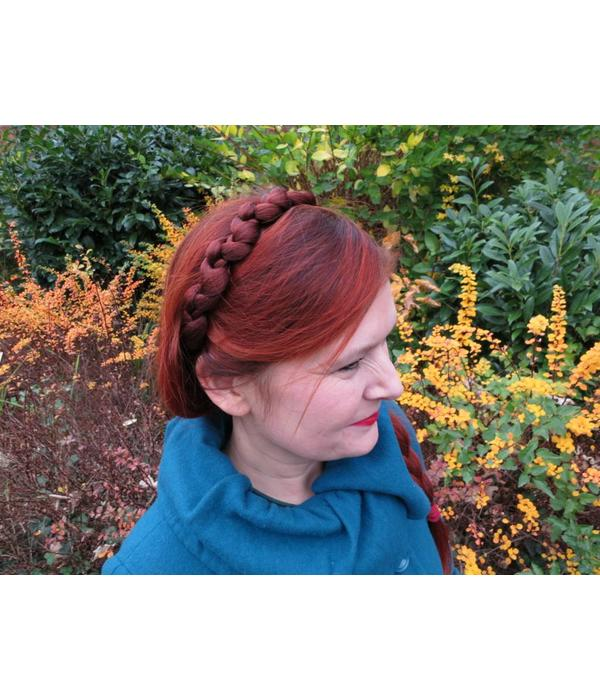 Headband Valkyrja, braided