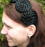 Haarschnecken, geflochten & gedreht, klein