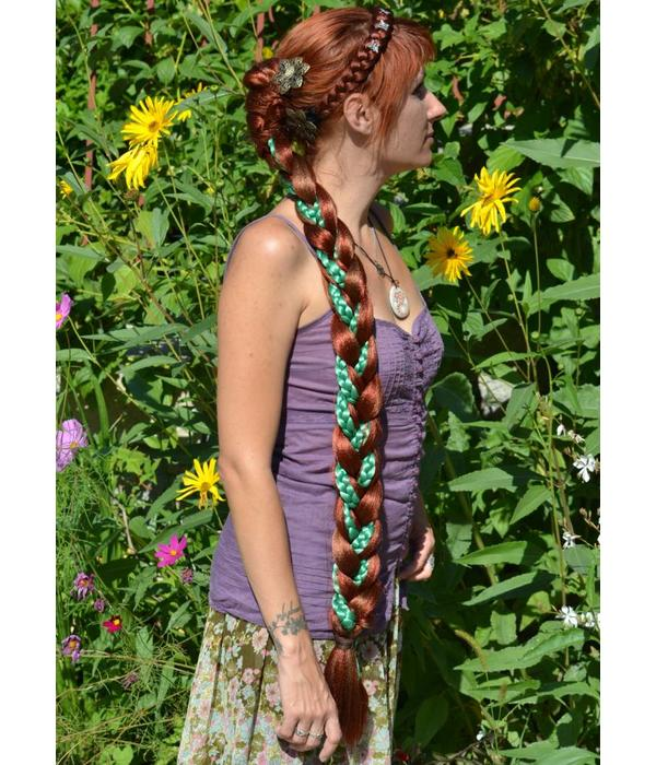 Boho Cameo Hair Flower