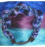 Mermaid Braid Headband of Hair