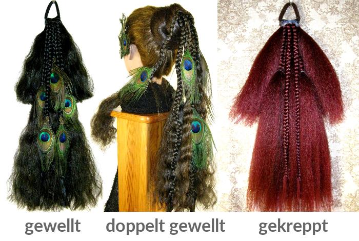 Wähle Deine Haarstruktur!