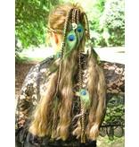 Magierin Pfauenfee 17 Haarteil M
