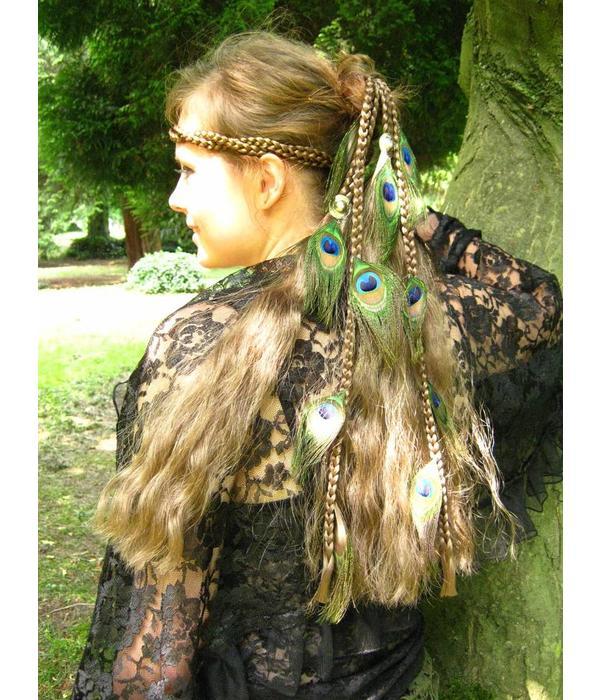 Magician Peacock Fairy 17 Hair Piece M