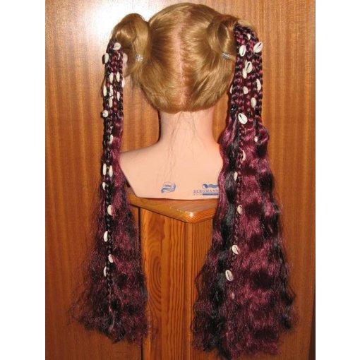 Tribal Fusion Hair Falls Cowry-Mermaid