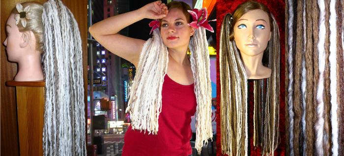 Blonde Dreads Haarteile, die bald ausverkauft sind