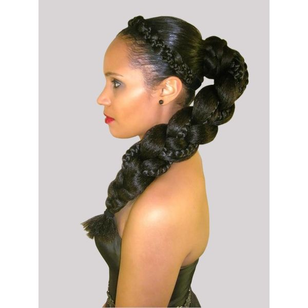 Supersize Fantasy Braid, black