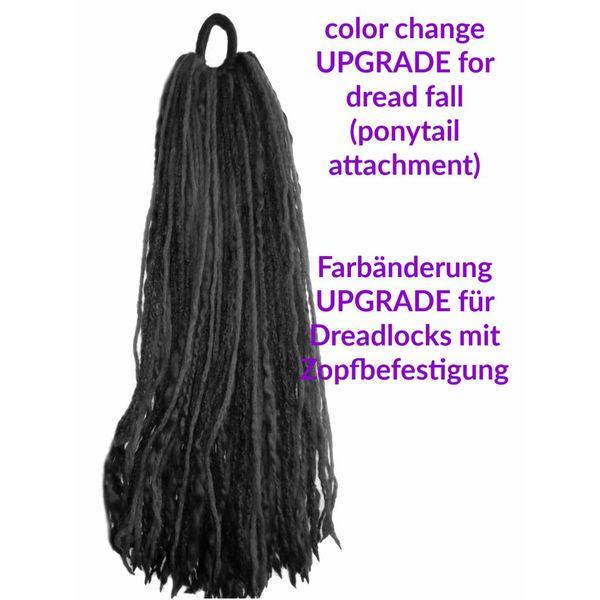 Farbanpassung für Dreads-Haarteil