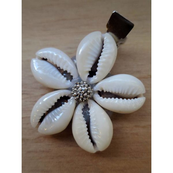 Cowry Hair Jewelry, silver