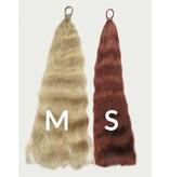 Zopfwunder - 55 cm Haarauffüller Zopf, gewelltes Haar