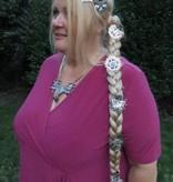 Zopfwunder - Haarauffüller Zopf, gewelltes Haar