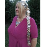 Braid Wonder - 55 cm paranda style hair filler, wavy hair