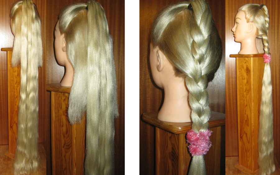 quick instructions for paranda braid wonder hair piece