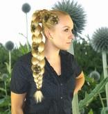 Haarblumen Set Bronze, 2, 3, 4, 5 oder 6 Stück
