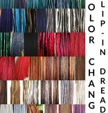 Customization of color mix for clip-in dreads
