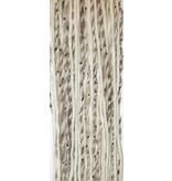Clip-in dreads snow leopard, blonde
