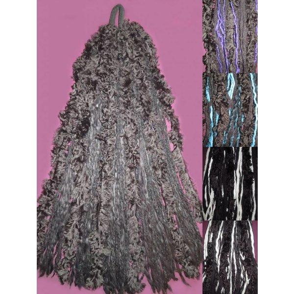 Gothic Lolita Fur Dreads