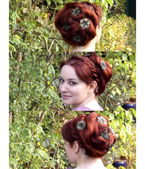 Mixed Steampunk Flowers 2, 3, 4, 5 or 6 pieces