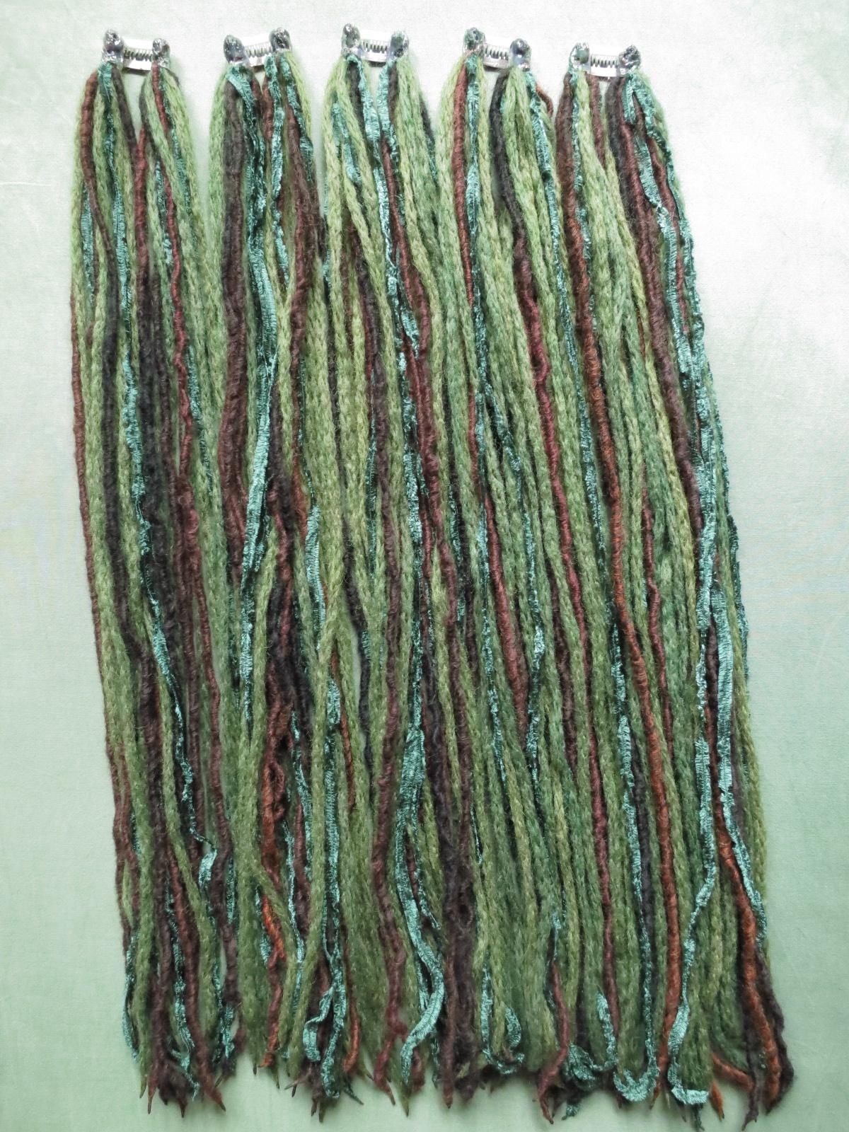 OFCCN 30 Colors Top Roving Dyed Spinning DIY Handcraft Felting Fiber Needlefelting Wool