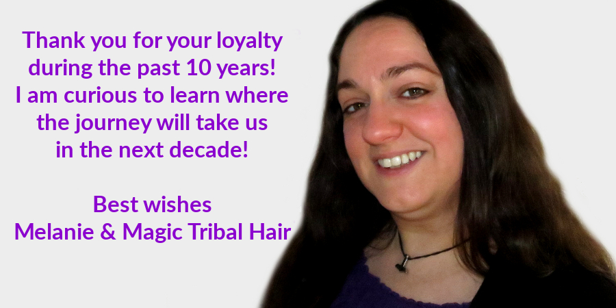 Anniversary greetings for 10 years loyalty!
