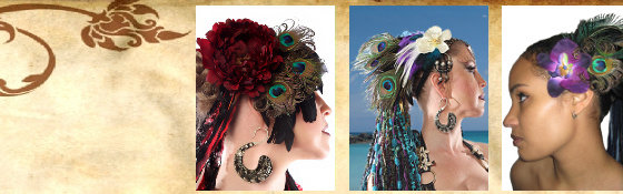 Feather Fascinators & Headpieces