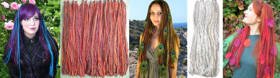 10 € Rabatt auf Dein Set Clip-in Dreadlocks!