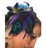 Feder Fascinator Nixe im Paradies