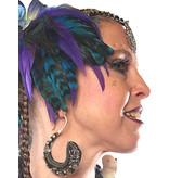 Feather Fascinator Mermaid in Paradise