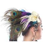 Pfauenfeder Kopfschmuck Headpiece Paradise