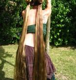 2 Haarteile, S extra, gekrepptes Haar