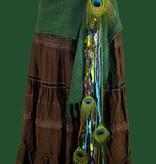 Fairy in Paradise hip & hair tassel clip/ yarn fall