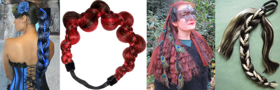 Goth & steampunk hair dreams handmade especially for you!