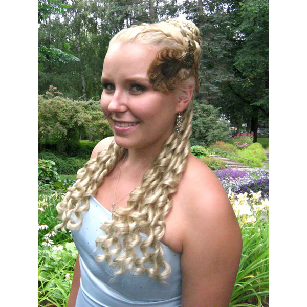 Club curls clip in curls set, Sissi/ Baroque