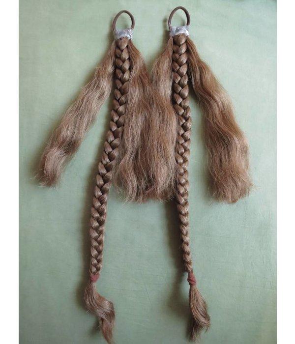 Tribal Haarschnecken, natürlich, Größe S
