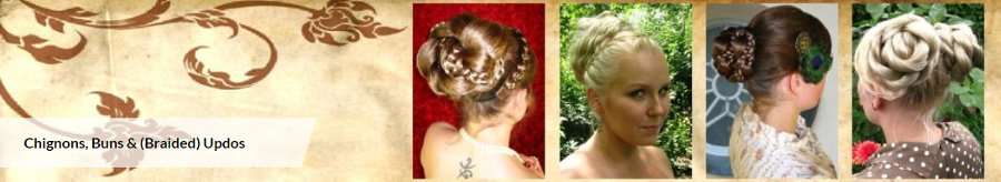 Shop hair pieces for bun & updo hairstyles here!