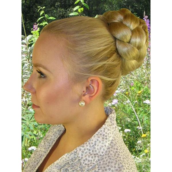 Chignon & Zopf M, gekrepptes Haar